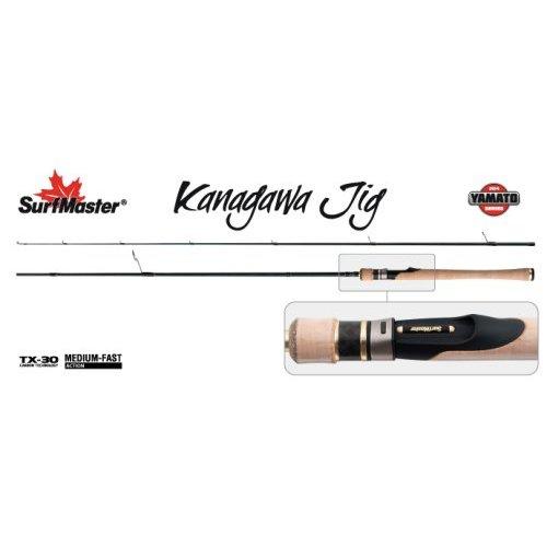 Спиннинг штекерный угольный 2 колена Surf Master YS5008 Yamato Series Kanagawa Jig TX-30, Длина: 2,65 м (134 см.) Вес: 135 гр. Тест: (7-18) г.
