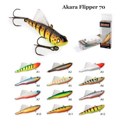 Воблер Akara раттлин Flipper , Длина: 70 мм Вес: 12 гр. Цвет: A12