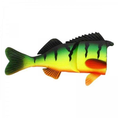 Сменное тело Percy the Perch Spare Body Low Floating Crazy Firetiger, Длина: 200 мм,Плавающий, арт: 804760950 - Воблеры