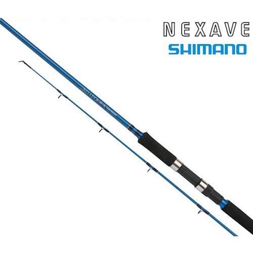 Спиннинг Shimano NEXAVE DX POWER GAME 270 H, Длина: 270 см. (138 см.) Вес: 272г Мощность: Heavy Тест: 20-80 гр., арт: 2567122422 - Спиннинги