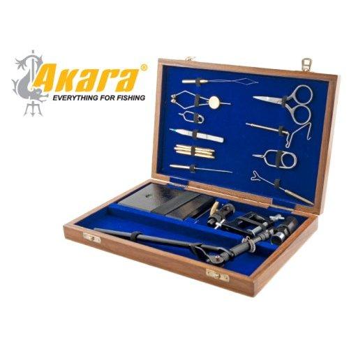 купить станок для вязки мушек 7301 набор инструментов в дер кейсе
