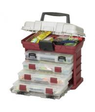 Ящик Plano с 4 коробками и верхним отсеком для аксессуаров 1354-00