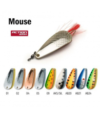 Блесна колебалка незацепляйка Akara Action Series Weedless Mouse