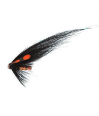 Лососевая муха UF Etterbutten Black/Orange US Tube M