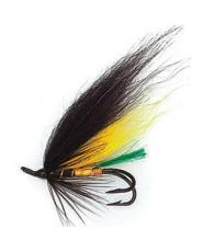Лососевая муха UF Yellow Man Double #6