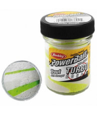 Тесто Fw PowerBait Select Glitter Turbo Dough 50g - White/Chartreuse