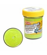 Тесто Powerbait Dough natural scent fish pellet - chartreuse
