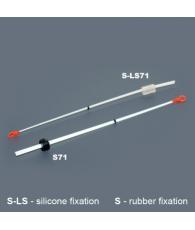 Кивок лавсановый NOD 71 (160 мм, жёсткость 0,35)