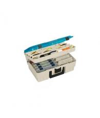 Ящик двухуровневый с прозрачной крышкой для приманок и инструмента Plano 1350-10