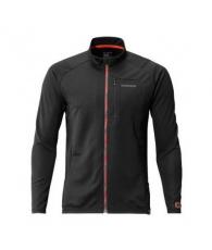 Футболка MS Full Zip Shirt (long sleeve) SH-001N Черный