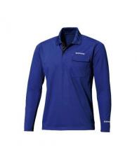 Футболка Polo Shirt (long sleeve) SH-093N Синий