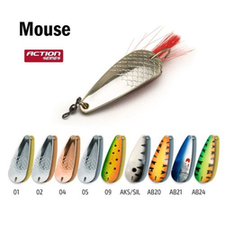 Блесна колебалка незацепляйка Akara Action Series Weedless Mouse