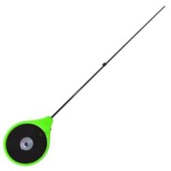 Удочка зимняя RBU зелёная (хлыст стеклопласт) (RBU-G)